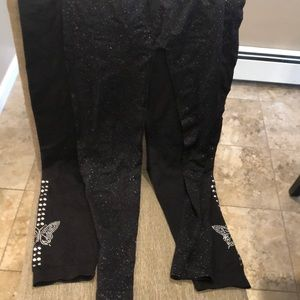 Pants - Black tights bundle size large